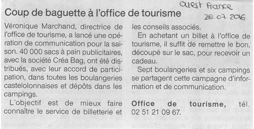OF 26 07 2016 Article créabag